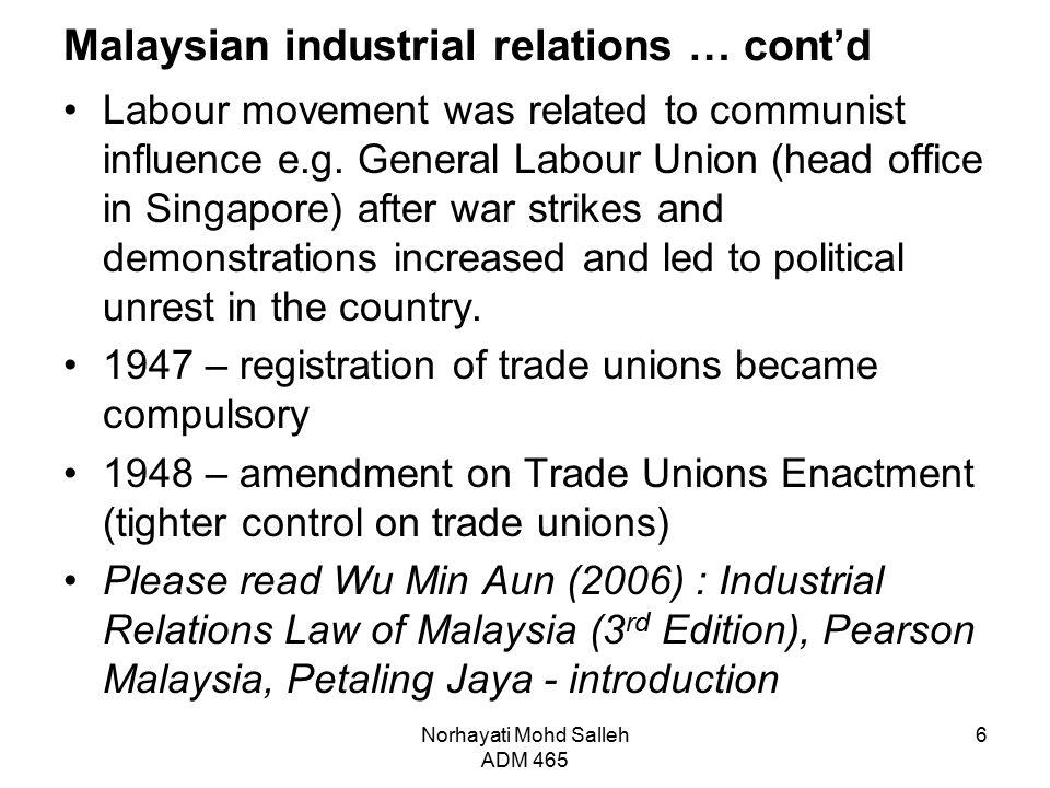 Industrial Relation Office Petaling Jaya