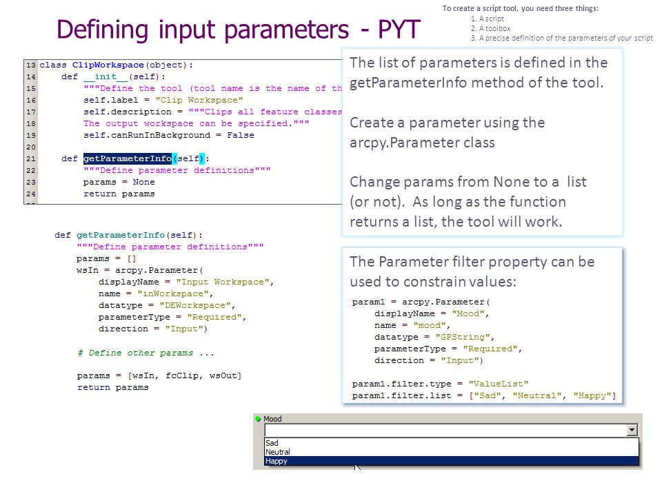 Python, Toolboxes, Tools & Script Tools - ppt video online