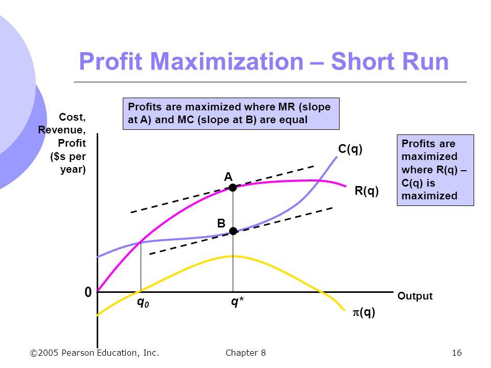16 profit maximization