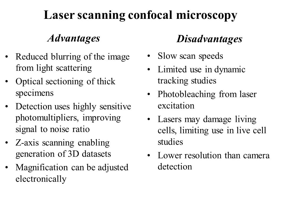 Fluorescence And Confocal Microscopy Ppt Video Online