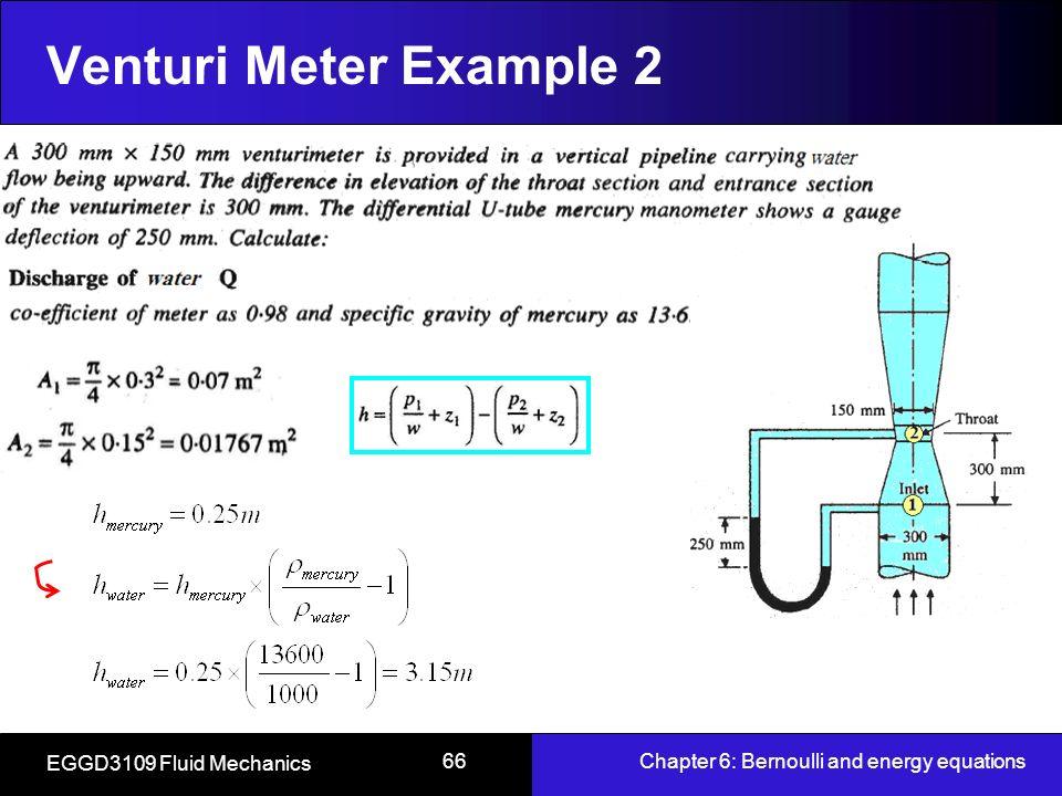 venturi meter example