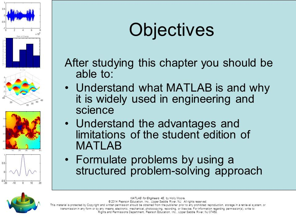 About MATLAB® Chapter 1 Welcome to Chapter 1 of MATLAB for