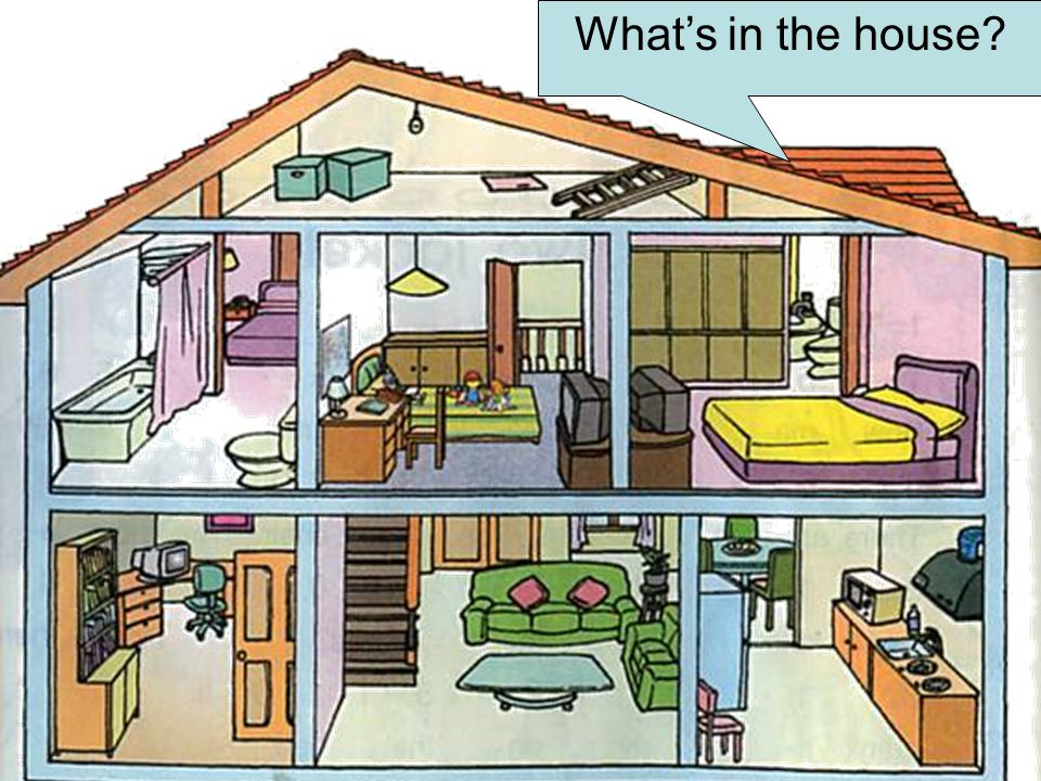 What's in the house