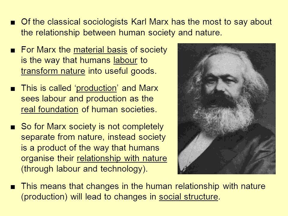 human nature according to karl marx