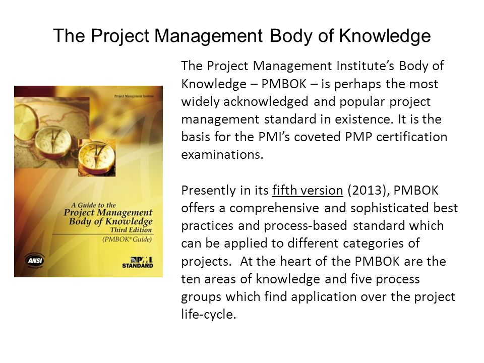 Mgt 461 Project Management Institute Knowledge Areas Ppt Video