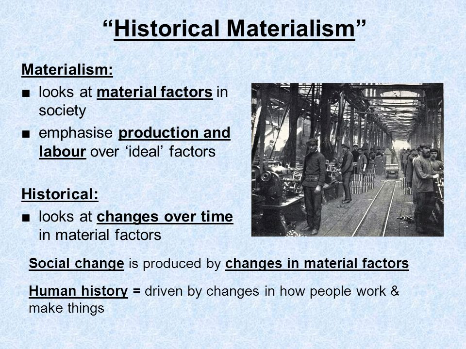 Image result for Historical Materialism