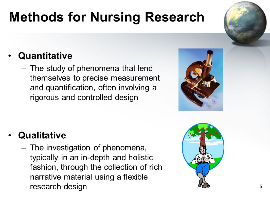 Methods for Nursing Research