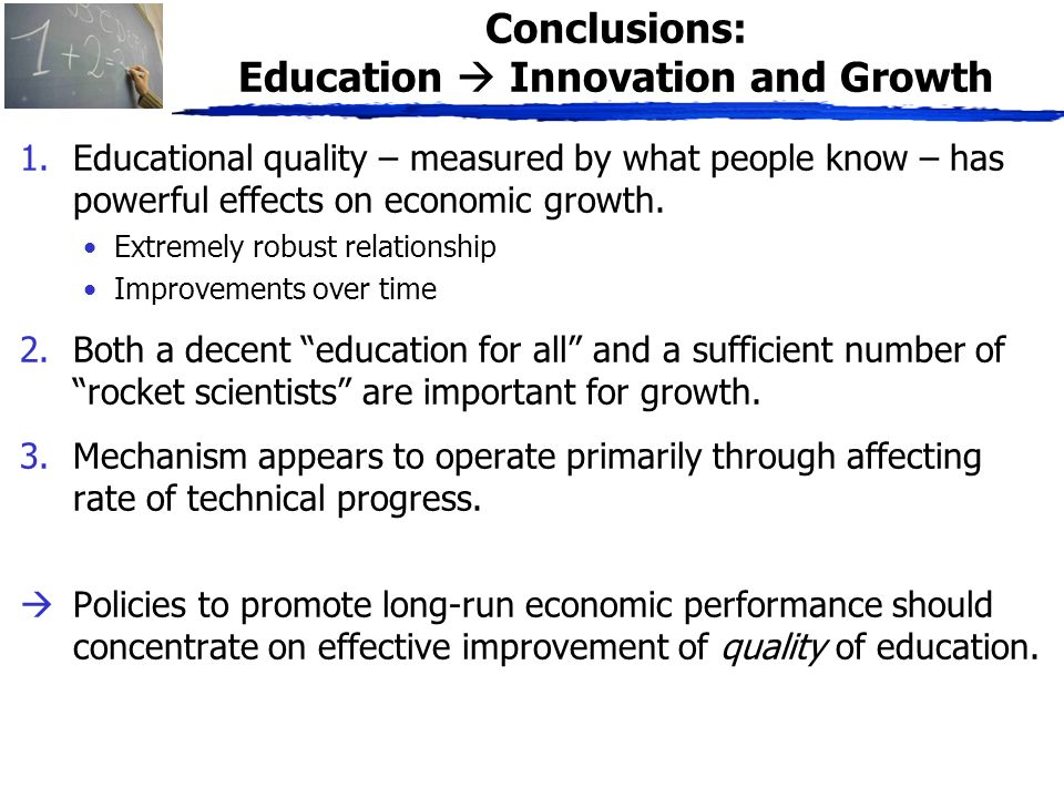 economic importance of education