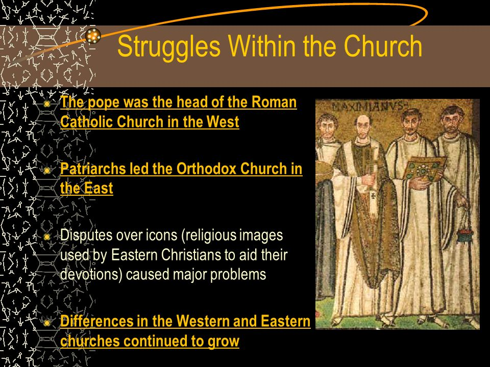 Struggles Within the Church