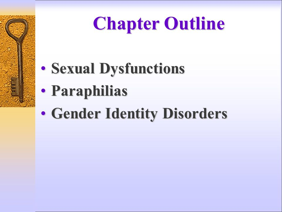 Psych forums paraphilias and sexual disorders