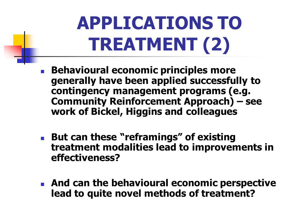 APPLICATIONS TO TREATMENT (2)