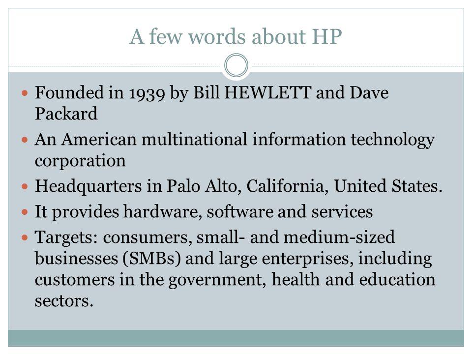 hp scandal case study