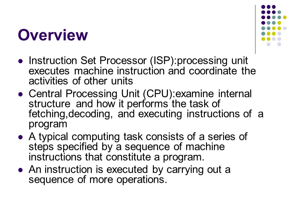 Execution Of Complete Instruction Ppt Video Online Download