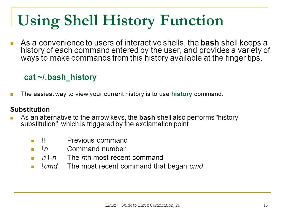 Workbook 6 – Part 1 The Bash Shell - ppt download