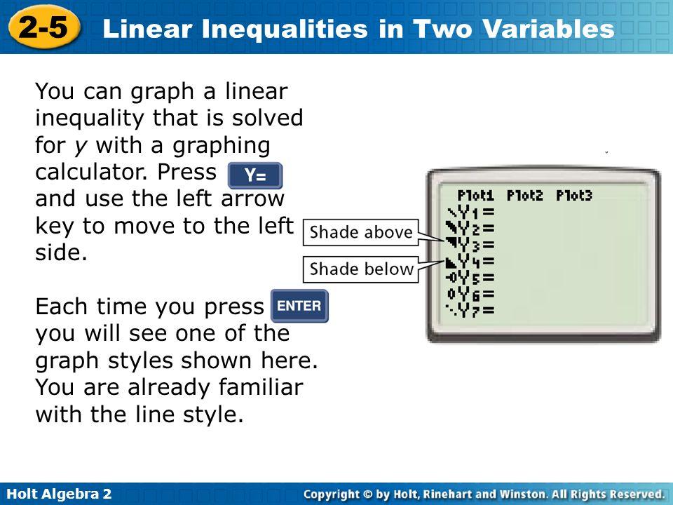 Graphing inequalities (inequalz app): ti-83, ti-84/ti-84 plus, ti.