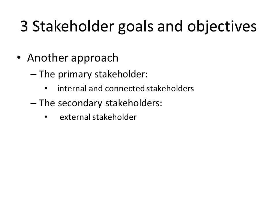 primary and secondary stakeholders pdf