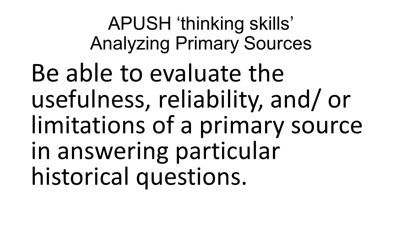 APUSH 'themes' (B A G P I P E ) - ppt video online download