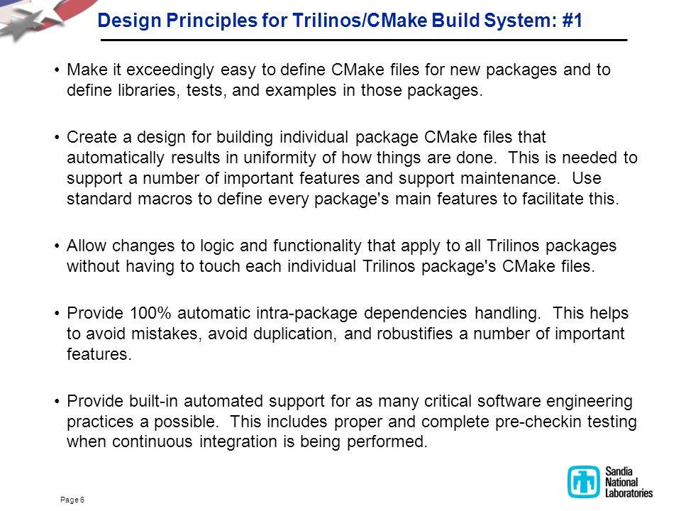 CMake For Trilinos Developers - ppt download