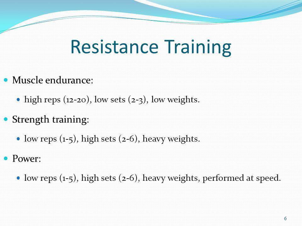Resistance Training SHMD 139 5/8/ ppt video online download
