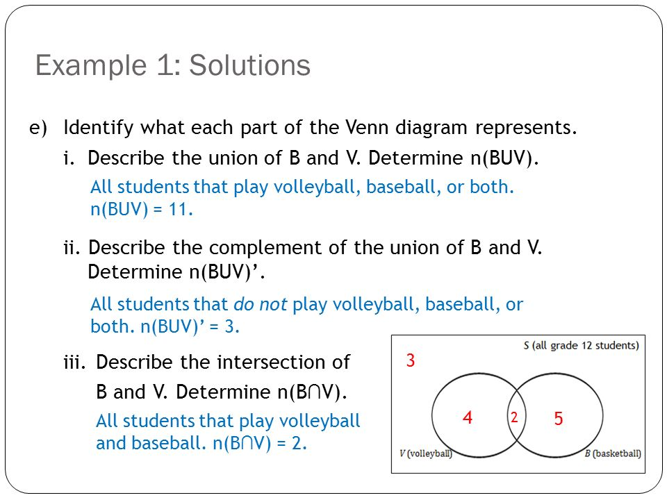 Topic 3 Intersection And Union Ppt Video Online Download