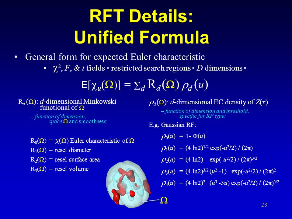 RFT Details: Unified Formula