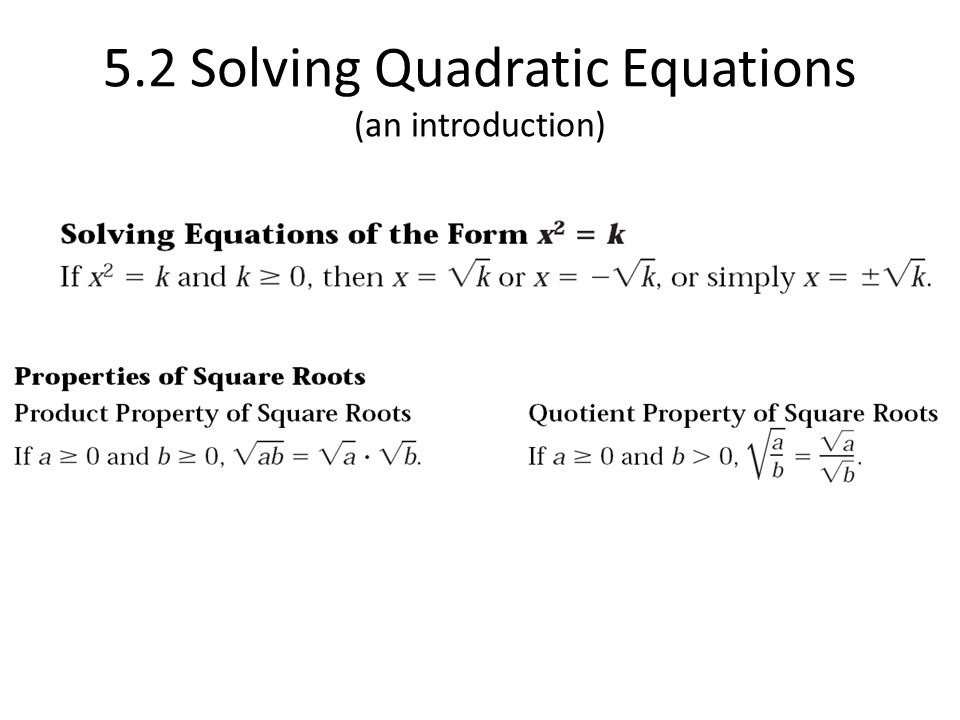 5 1 – Introduction to Quadratic Functions - ppt download