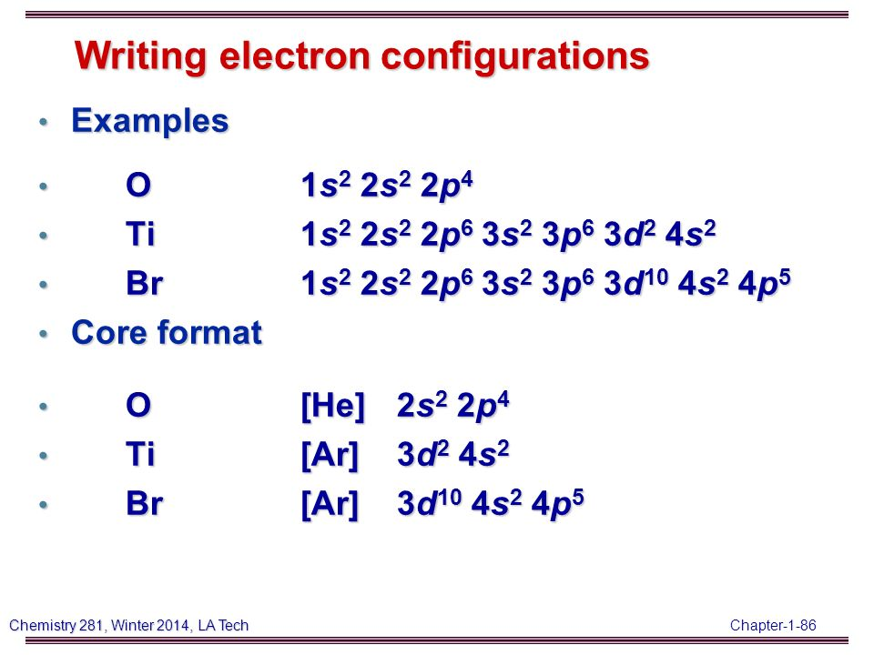 Electron Configuration Examples Image Collections Example Cover