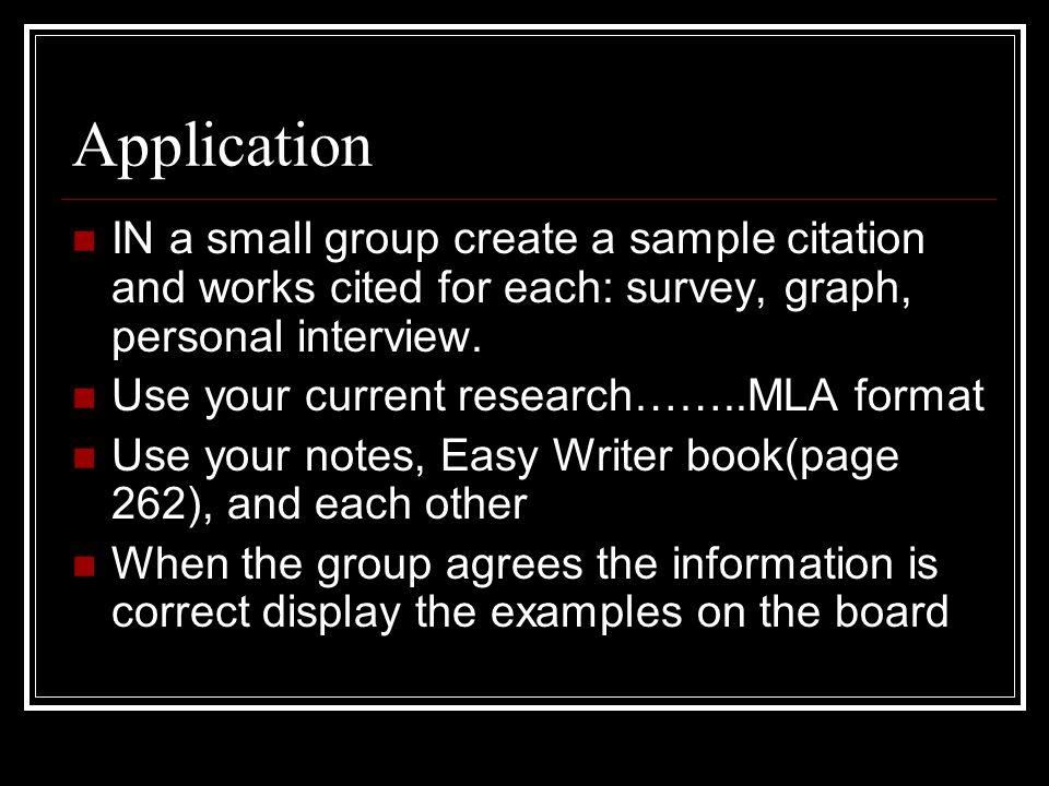 mla format interview citation