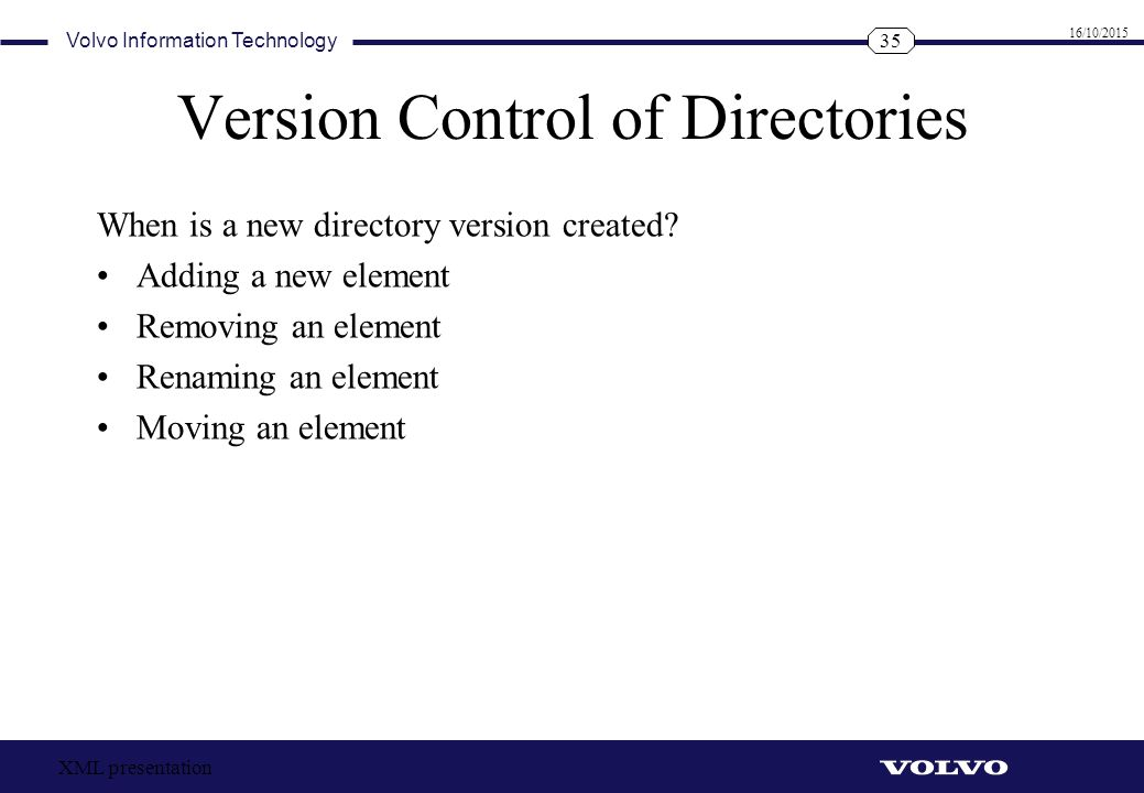 Version Control of Directories