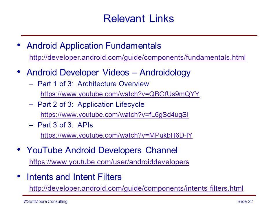 overview of android application development ppt video online download rh slideplayer com oracle database application developer's guide - fundamentals Hair Developer Guide