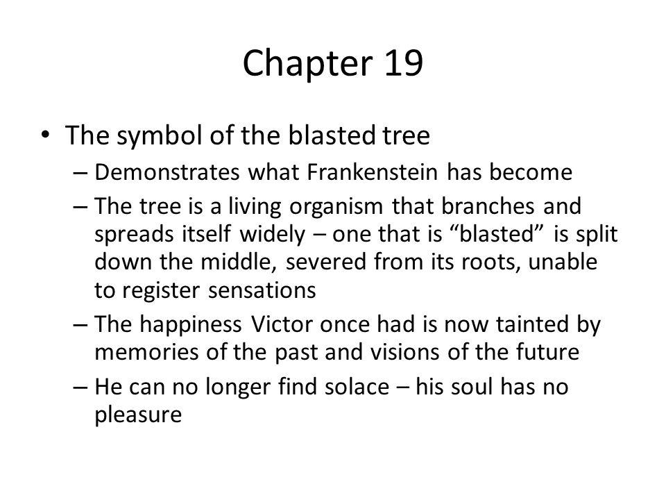 frankenstein chapter 18 summary