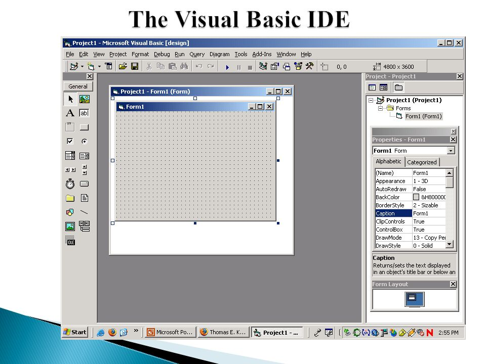Chapter 3 Introducing Visual Basic - ppt video online download
