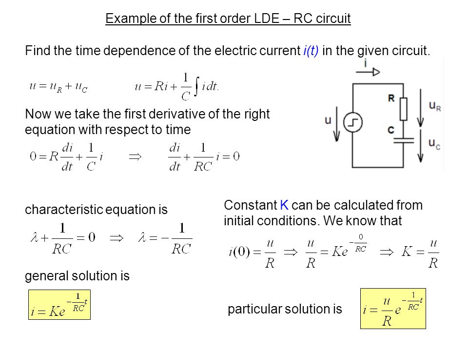 lecture 2 differential equations ppt video online download rh slideplayer com