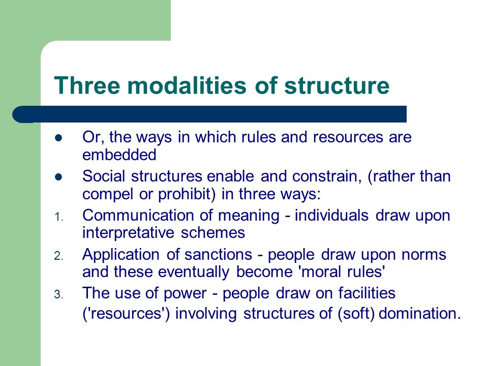 Theoretical Issues Structure And Agency Ppt Video Online Download