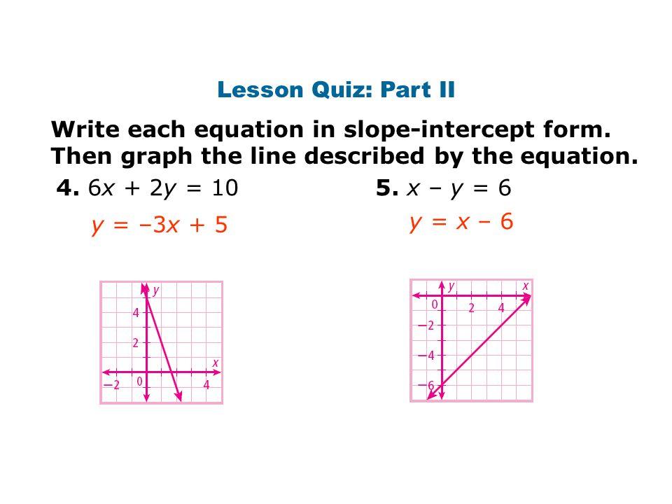 Warm Up Presentation Lesson Quiz Ppt Download
