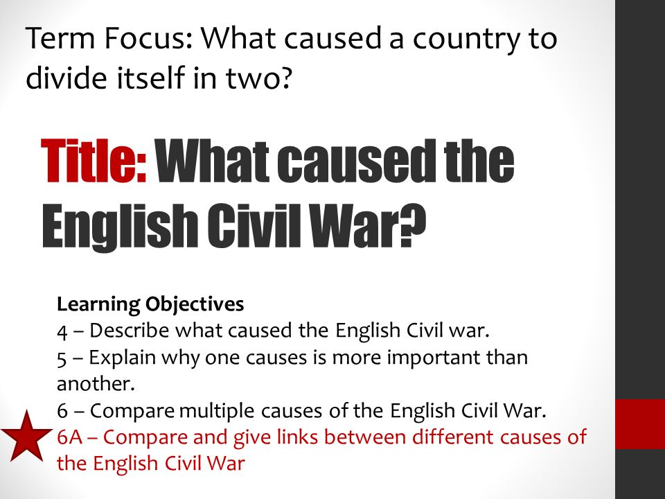 why is the english civil war important