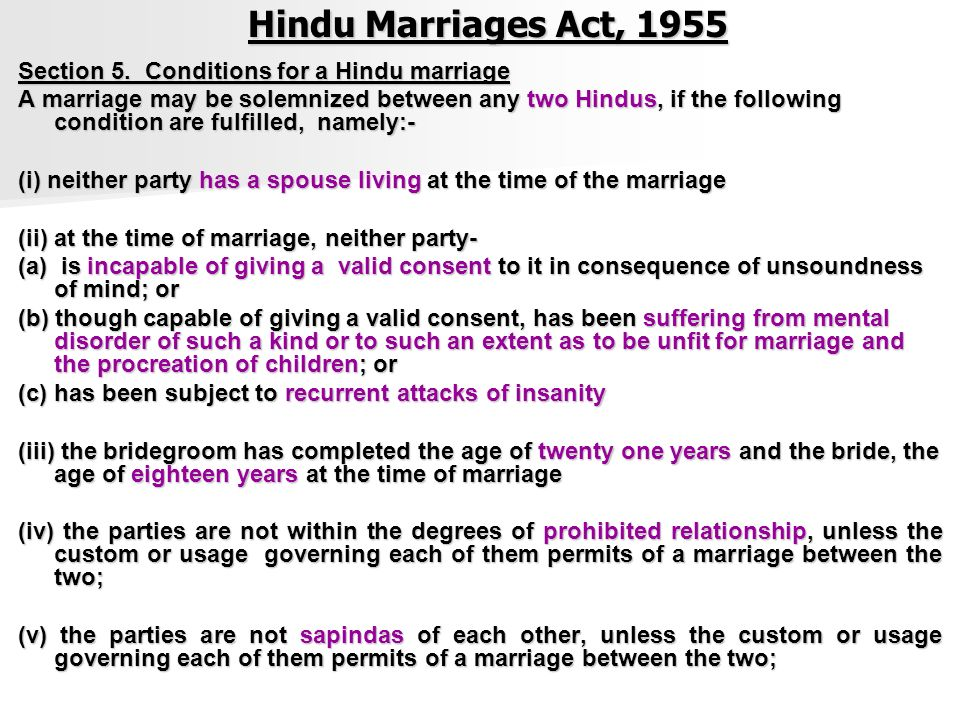 Hindu Marriage Act 1955 Pdf