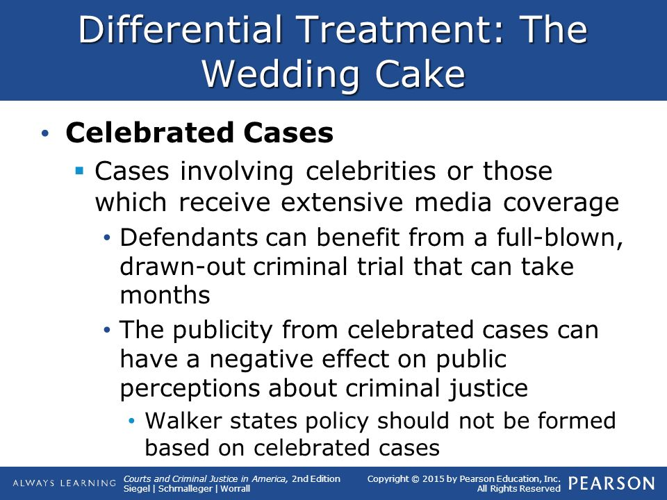 the wedding cake model of criminal justice system quizlet 15 differential treatment and wrongful convictions ppt 20907
