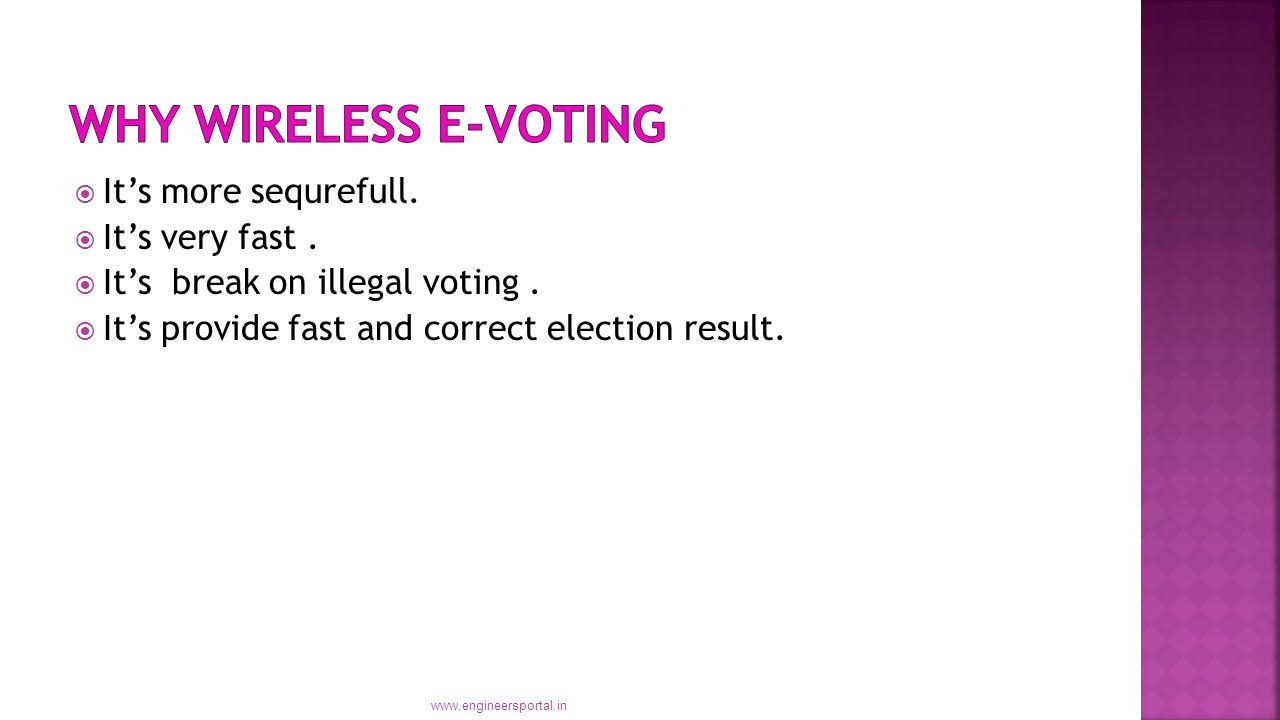 Global Wireless E-voting Pdf
