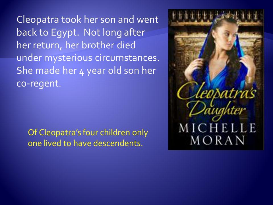 cleopatra siblings
