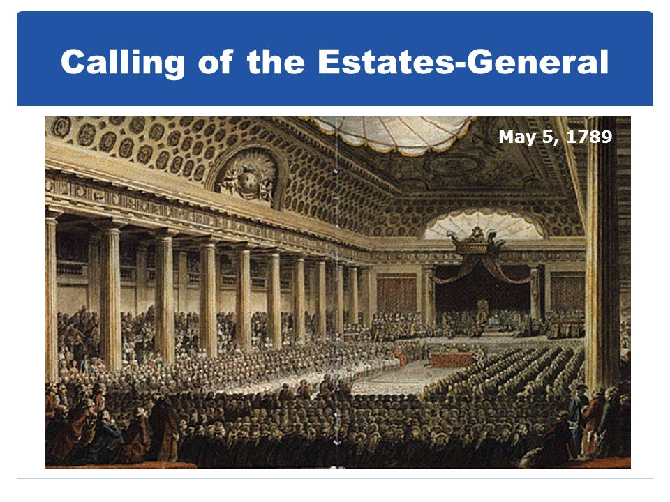 Calling of the Estates-General