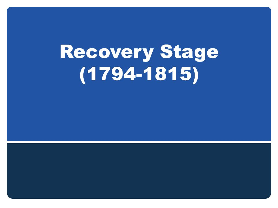 Recovery Stage ( )