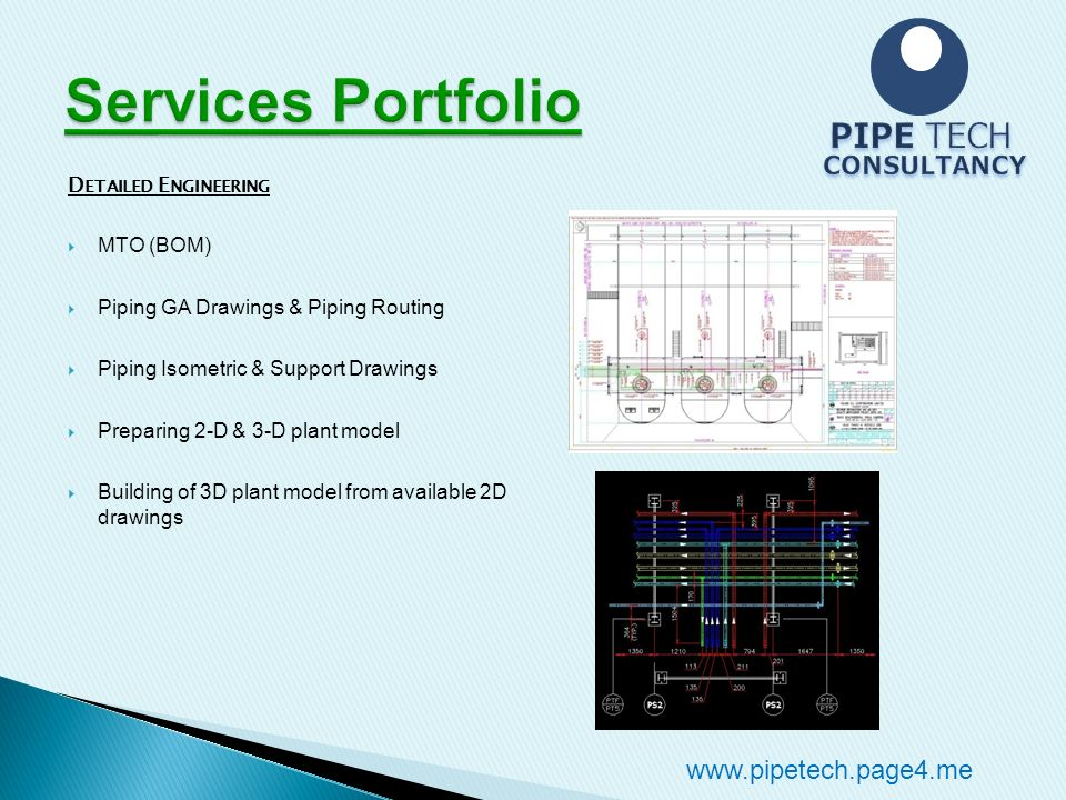 PIPETECH CONSULTANCY WELCOME TO PIPE TECH CONSULTANCY - ppt