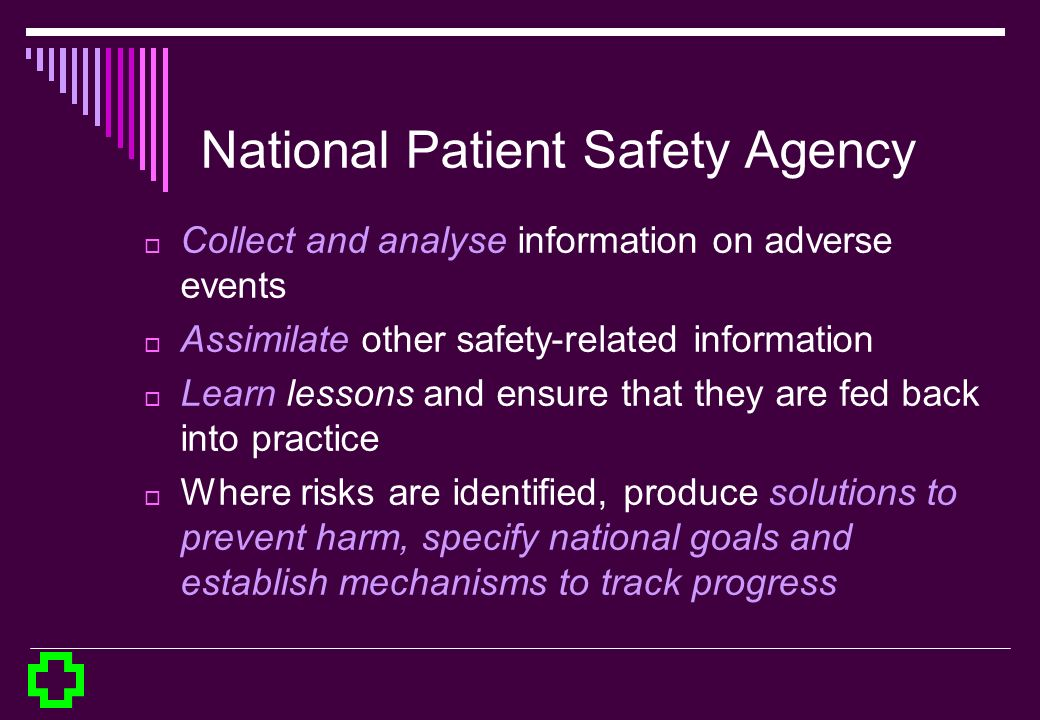 National Patient Safety Agency
