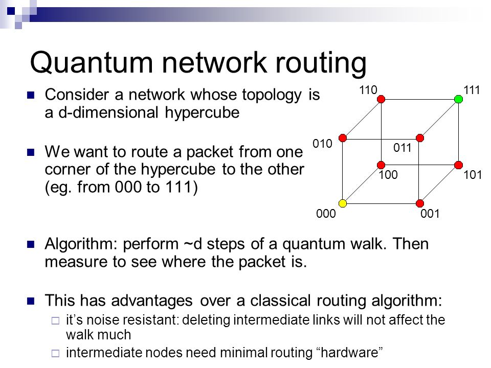 Quantum network routing