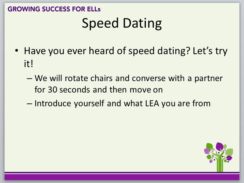 esl lesson plan Speed dating 9 Vor-und Nachteile der Datierung eines Potheads
