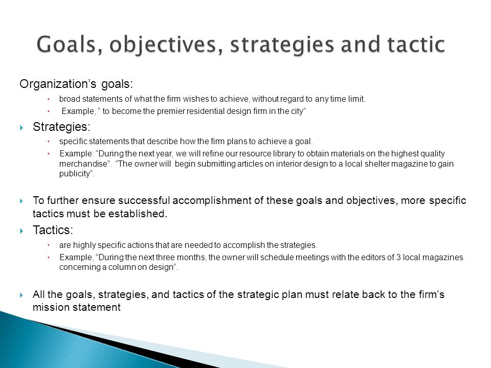 Mission Statement Goals And Objectives Example Gallery Example