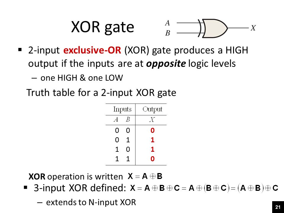 3 Input Xor Gate Logic Diagram | Wiring Diagram on