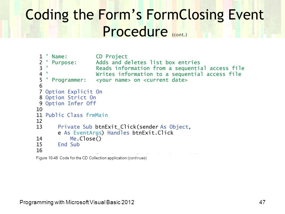 Chapter 10: Structures and Sequential Access Files - ppt