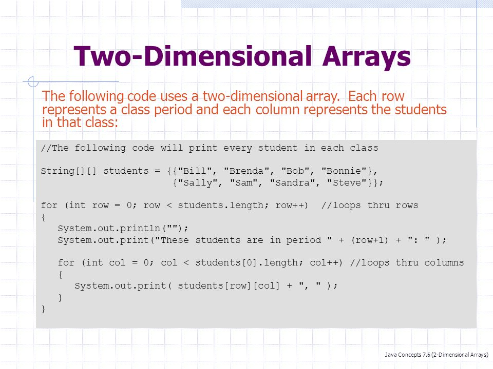 Arrays Mr  Smith AP Computer Science A  - ppt download